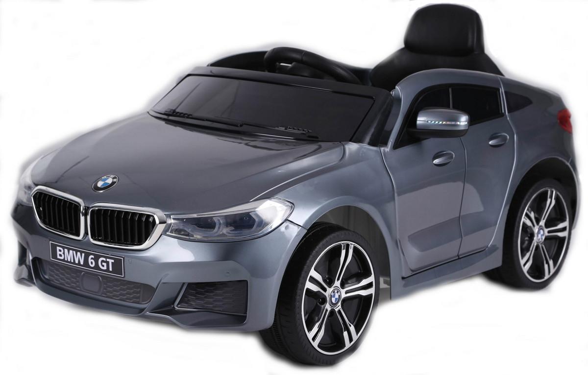 Электромобиль RiverToys BMW 6 GT JJ2164 Silver