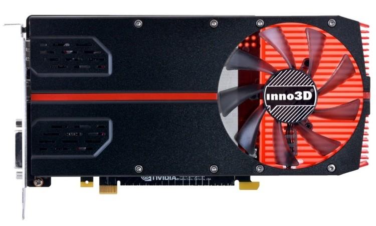 Видеокарта Inno 3D GeForce GTX 1050 Ti …