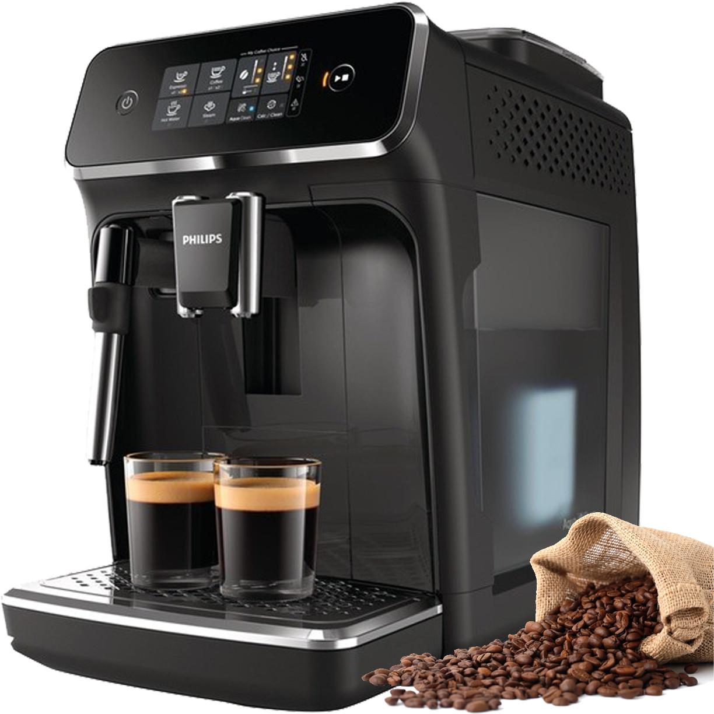 Кофемашина Philips EP2021 + 12 упаковок кофе ☕️