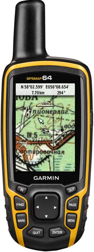 GPS-навигатор Garmin GPSMAP 64 Rus