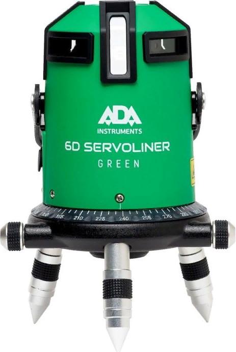 Лазерный нивелир ADA 6D Servoliner Green