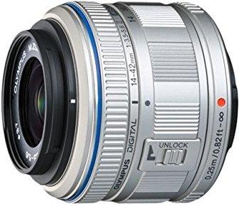 Объектив Olympus M.Zuiko Digital 14-42mm f/3.5-5.6 II R Silver