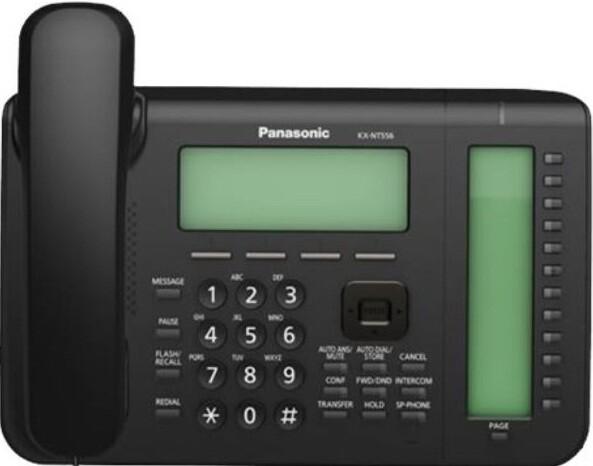 IP-телефон Panasonic KX NT556 Black