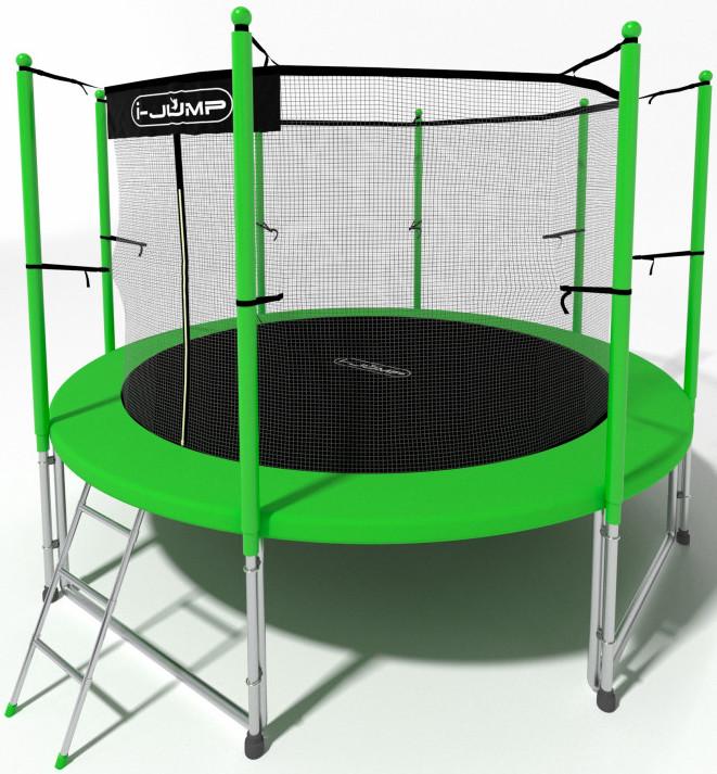 Батут i-Jump 6FT Green (с внутренней се…