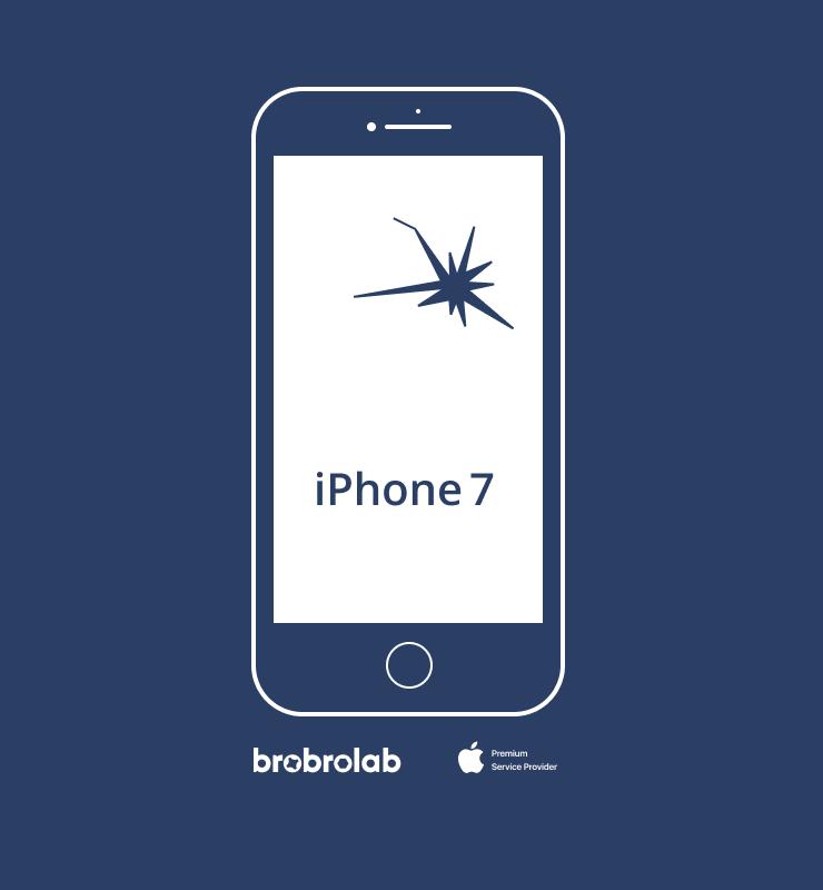 Замена экрана iPhone 7 в авторизованном…