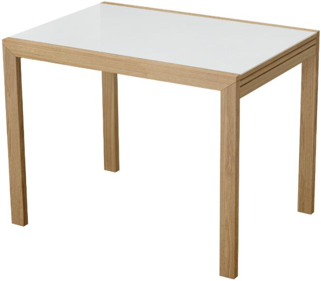 Кухонный стол Интердизайн Финезия светло-коричневый/белый 76x200x70 см