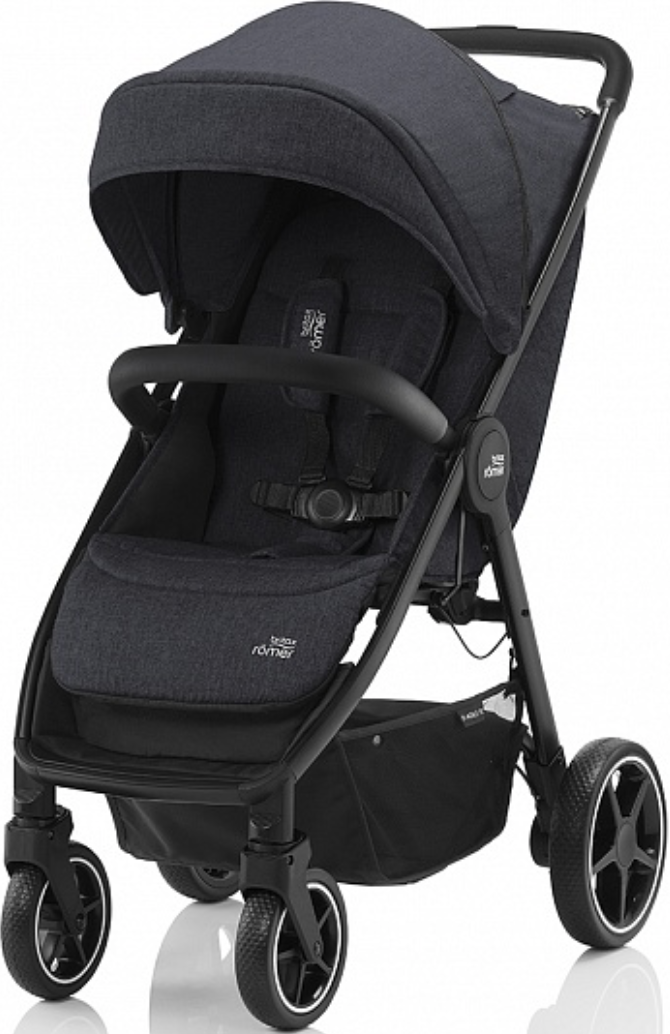 Коляска Britax Roemer B-Agile R Black Shadow/Black
