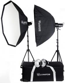 Комплект осветителей Lumifor Creto 800 Portrait Kit