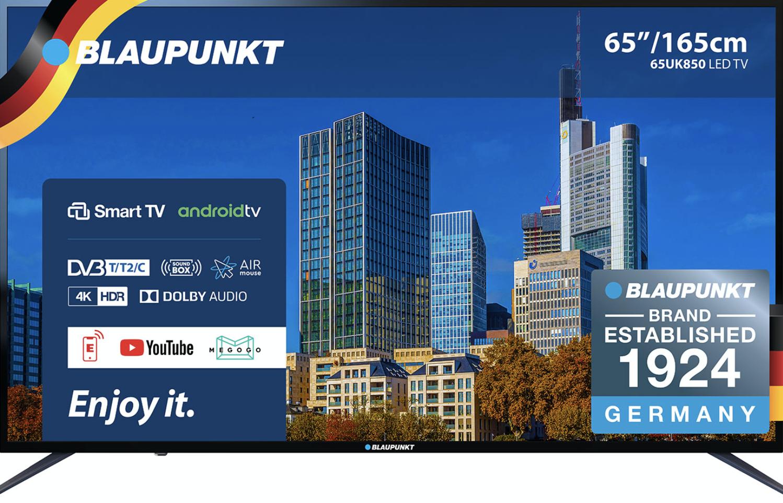 Телевизор Blaupunkt 65UK850T Black
