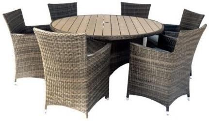 Комплект мебели Афина-Мебель AFM-190 светлый коричневый
