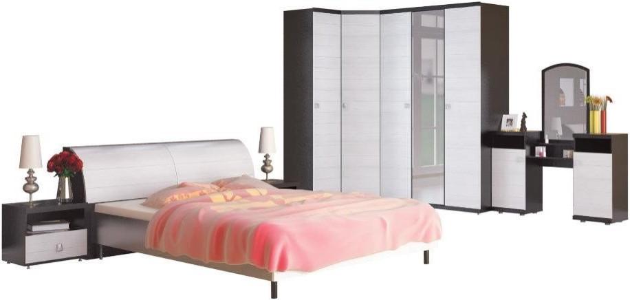 Спальня Столплит Гретта 411-430-809-1101 дуб феррара/онденс (набор 2)
