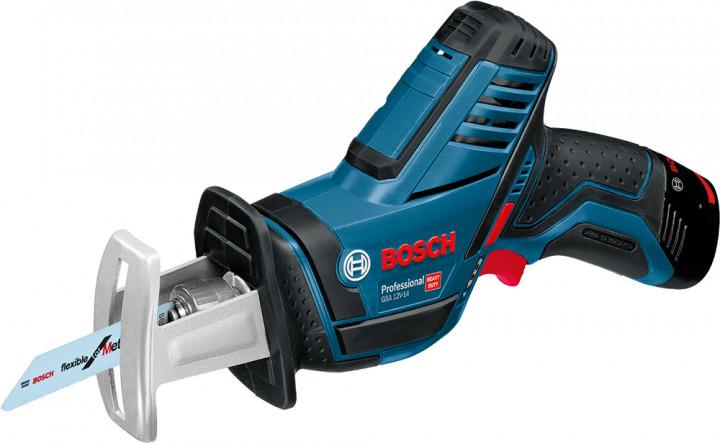 Пила сабельная Bosch 060164L972 (2 АКБ)