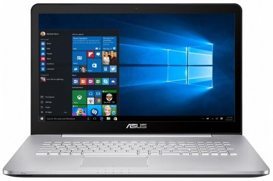 "Ноутбук Asus N752VX-GC218T 17,3""/2,3GHz/4Gb/1Tb Grey"