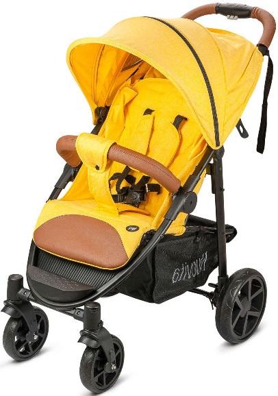 Коляска Nuovita Corso Yellow/Black