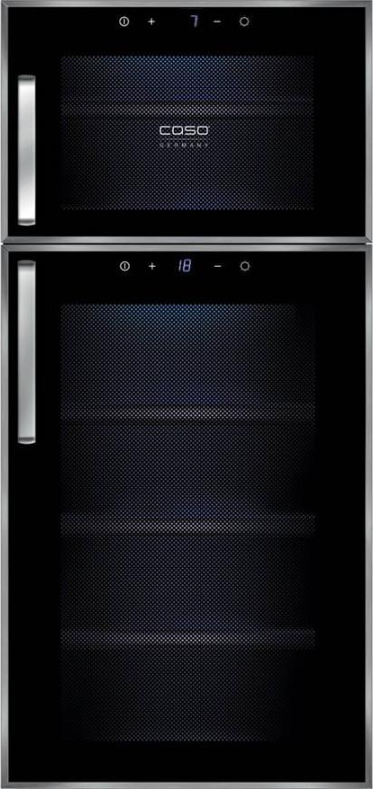 Винный шкаф Caso WineDuett Touch 21