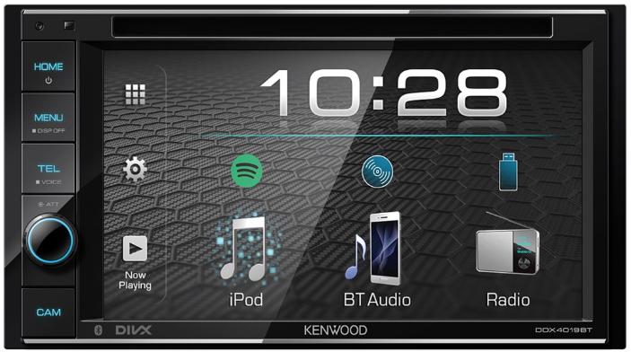 Автомагнитола Kenwood DDX-4019BTR