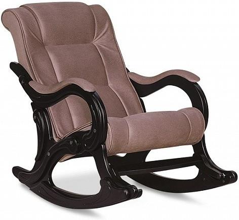 Кресло-качалка Цвет Диванов Берген капучино 70x126x95 см
