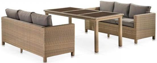 Комплект мебели Афина-Мебель T365/S65B-W65 светлый коричневый