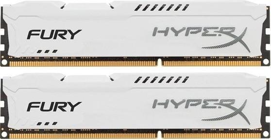 Память Kingston HyperX Fury DIMM DDR3 2x8Gb 1333MHz White