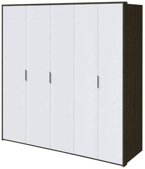 Шкаф Интердизайн Тоскано ясень темный/белый 2209x2320x599 см