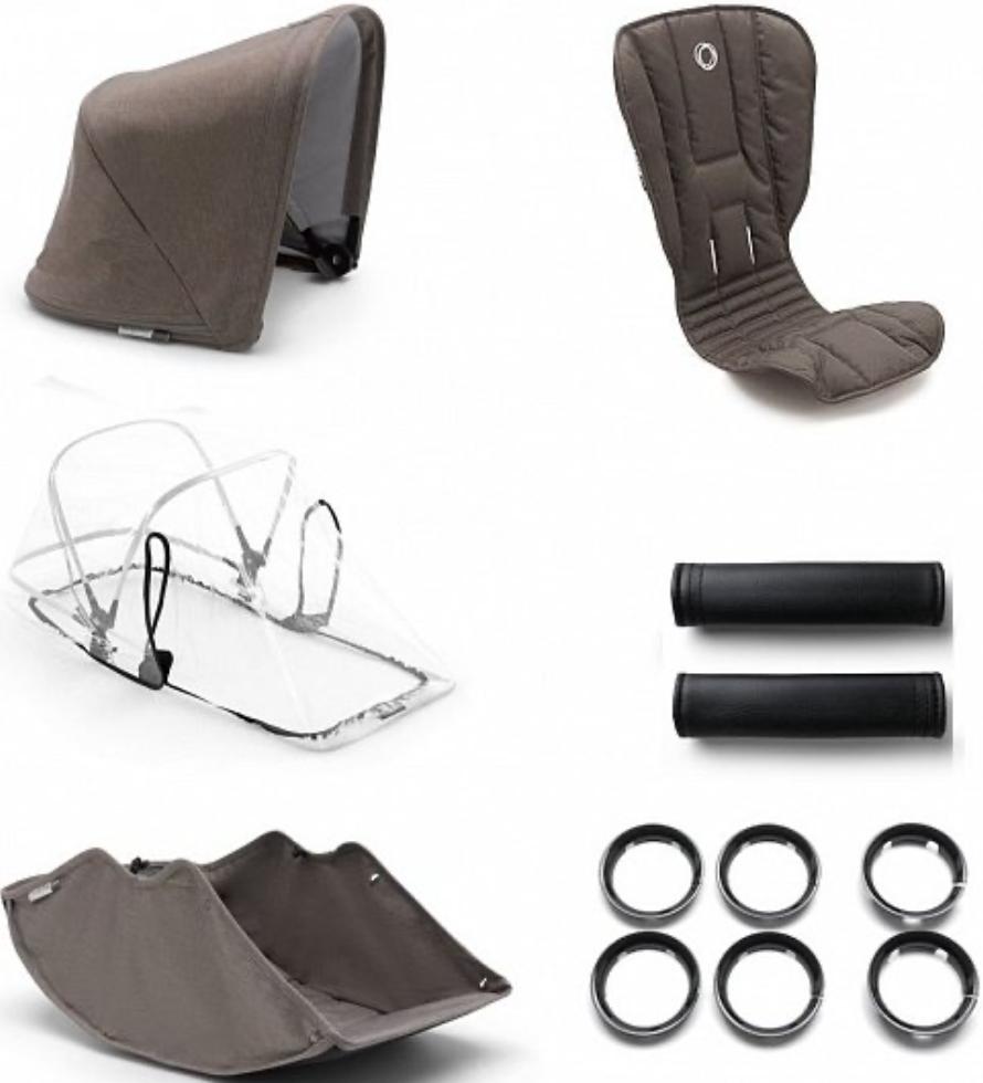 Комплект для коляски Bugaboo 500230AM01 Mineral Taupe