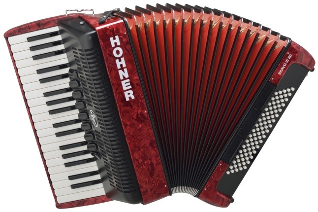 Аккордеон Hohner The New Bravo III 80 R…