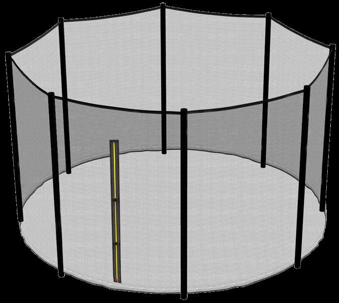 Сетка защитная верхняя для батута Hasttings Sky Double 16FT (488 см)