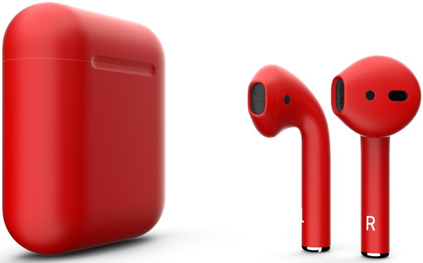 Наушники Apple AirPods 2 2019 Matte Red…