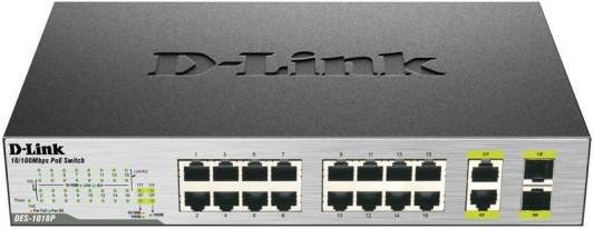 Коммутатор D-Link DES-1018P/A2A
