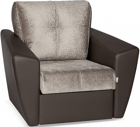 Кресло Цвет Диванов Амстердам Next кофейный 104x90x76 см