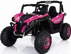 Электромобиль ToyLand Buggy ХМХ 603 4х4 Pink