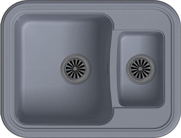 Кухонная мойка Ewigstein Antik А-60K серый