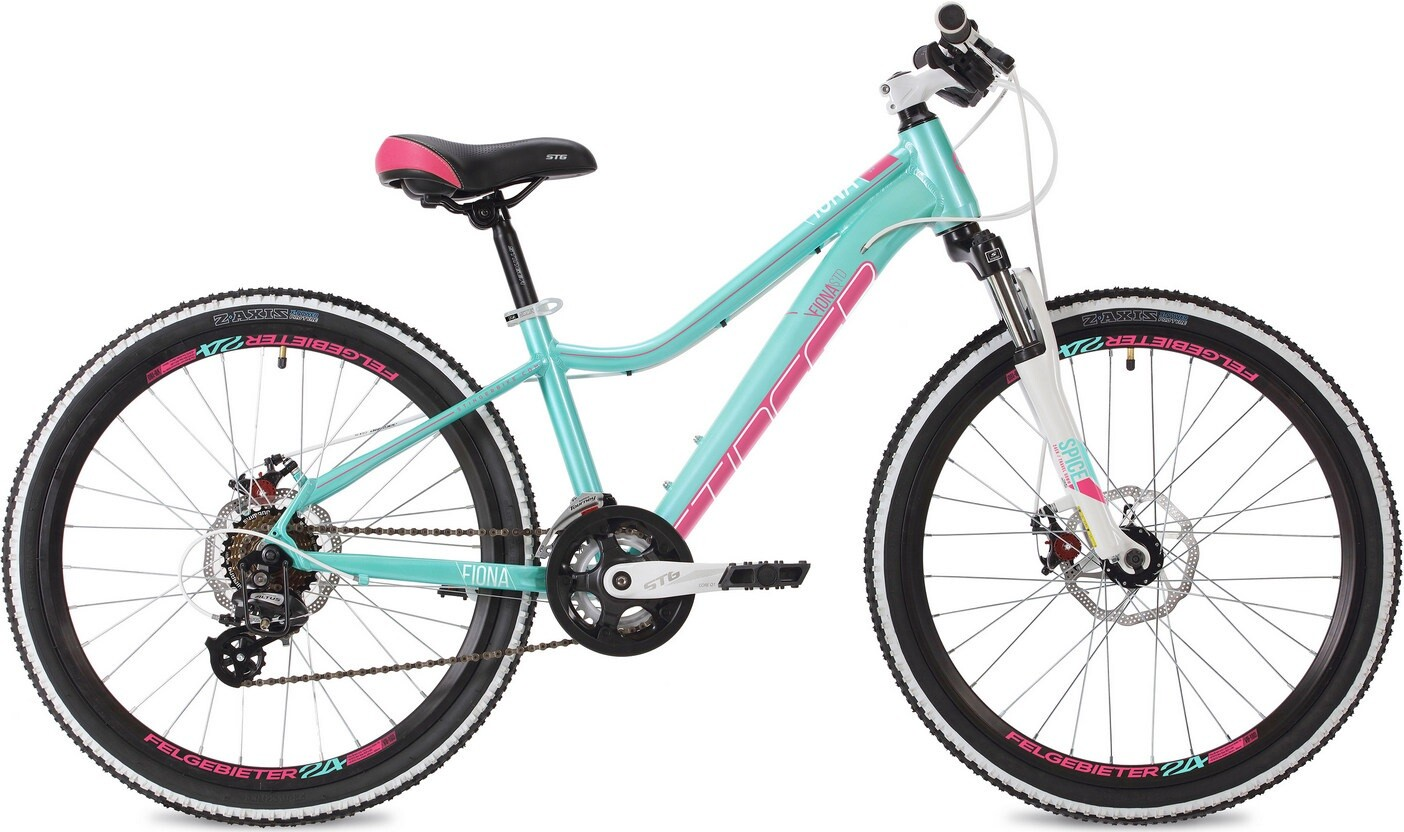 """Велосипед Stinger Fiona Std 24 (2020) зеленый 24""""/12"""""""
