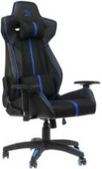 Игровое кресло ZET Force Armor 1000K черный/синий