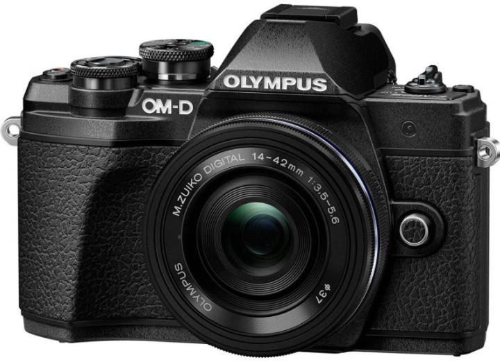 Фотоаппарат Olympus OM-D E-M10 Mark III Kit 14-42mm f/3.5-5.6 EZ Black