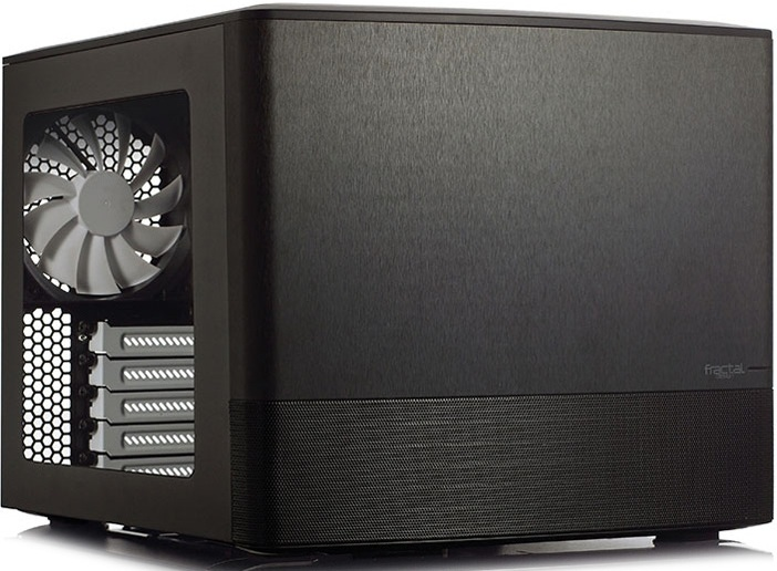 Корпус для компьютера Fractal Design Node 804 micro-ATX Black