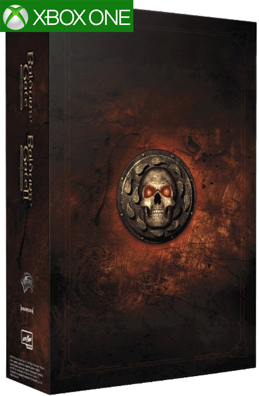 Игра Baldur's Gate Enhanced Edition I + Enhanced Edition II  Коллекционное издание Xbox One русская версия