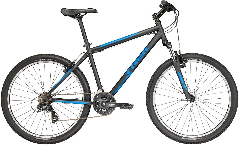 """Велосипед Trek 820 (2017) черный 26""""/19.5"""""""