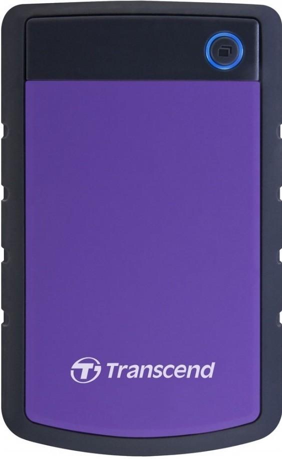 Внешний HDD-диск Transcend StoreJet 25H3 4Tb/HDD/USB 3.0 Purple