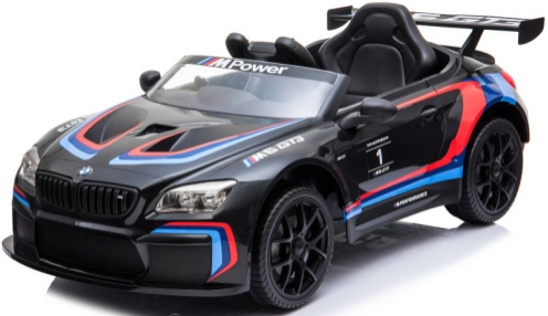 Электромобиль Barty BMW M6 GT3 Black