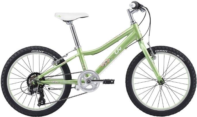 "Велосипед Giant Liv Enchant Lite (2017) Green/White 20"""