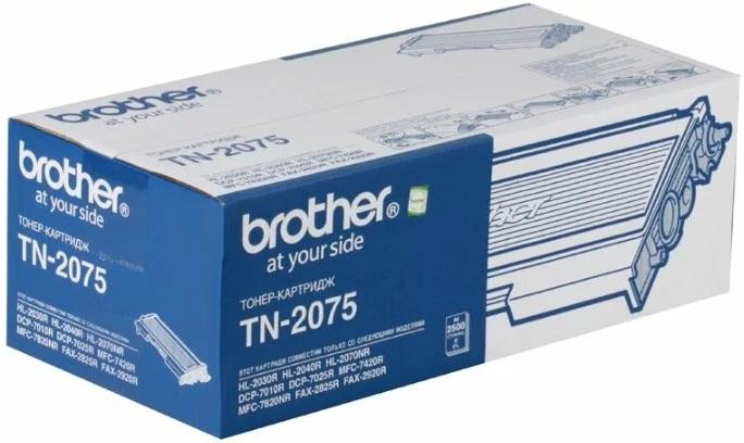 Картридж Brother TN-2075 Cyan
