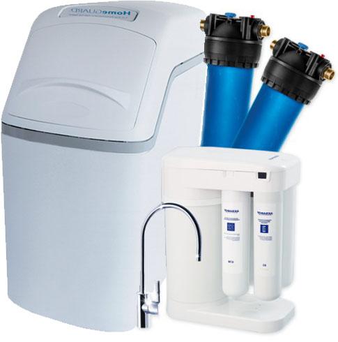 Комплект водоочистки Аквафор WaterBoss 400P + Гросс + Морион + соль
