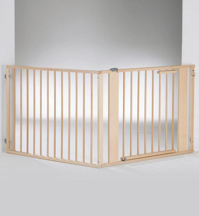 Ворота безопасности Geuther натуральный/серебро