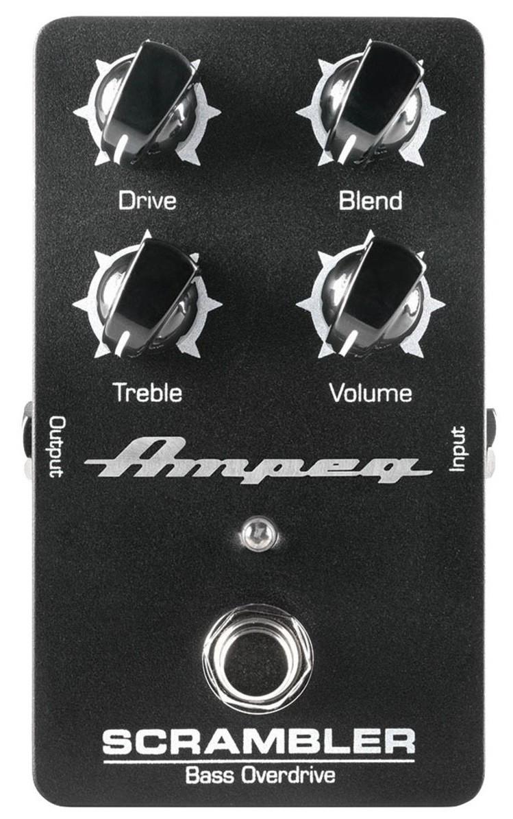 Педаль эффектов Ampeg Scrambler Bass Overdrive