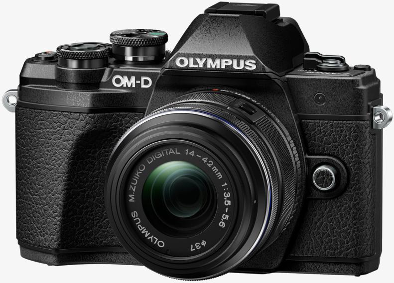 Фотоаппарат Olympus OM-D E-M10 Mark III Kit 14-42mm f/3.5-5.6 II R Black + 40-150mm f/4.0-5.6 R