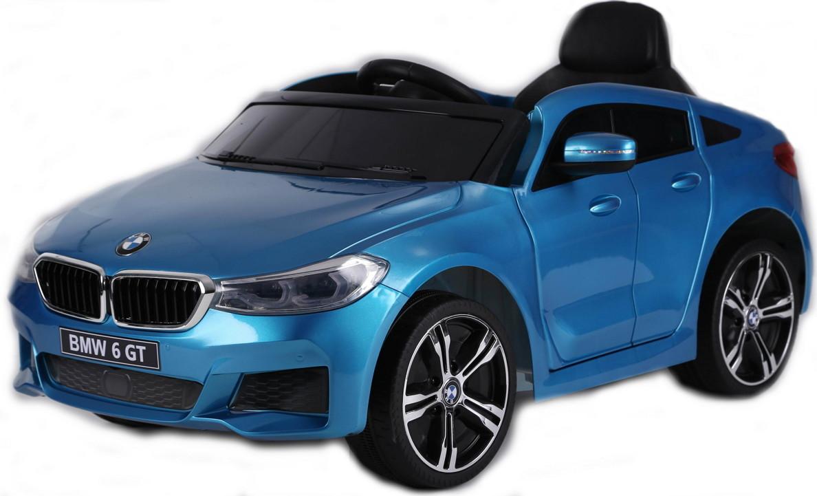 Электромобиль RiverToys BMW 6 GT JJ2164 Blue
