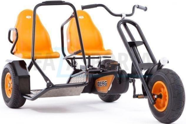 Веломобиль Berg Duo Chopper Orange BF