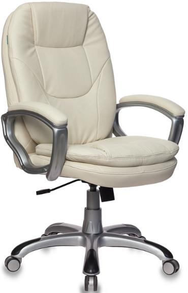 Кресло руководителя Бюрократ CH-868AXSN/WHITE белый