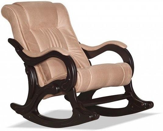 Кресло-качалка Цвет Диванов Берген золотисто-коричневый 70x126x95 см